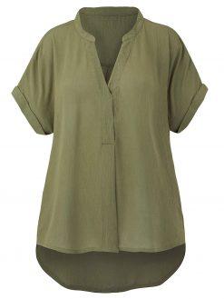 blouse met lange achterzijde